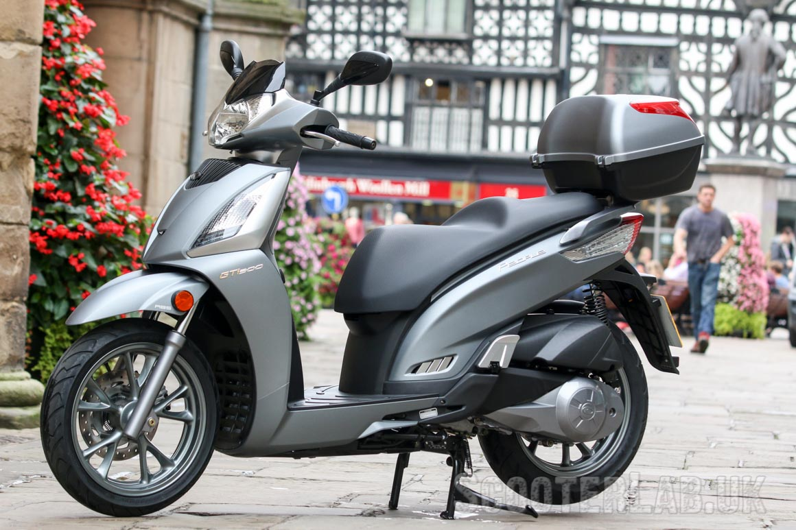 kymco people gt300i euro4 abs gti review | road test - scooterlab