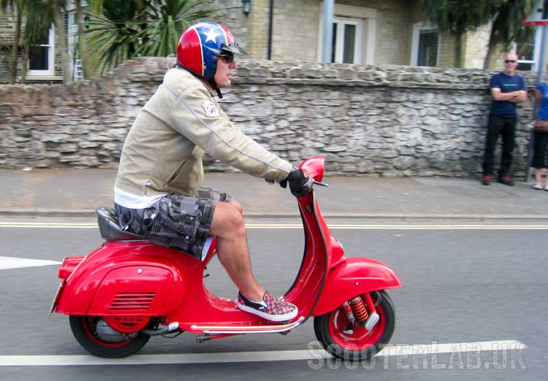 Older scooters spared the London T-charge | NEWS