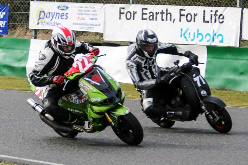 Sticky put Underdog through its paces at the Mallory test day